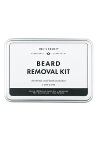 Men's Society - BEARD REMOVAL KIT - Shaving set - - - 1
