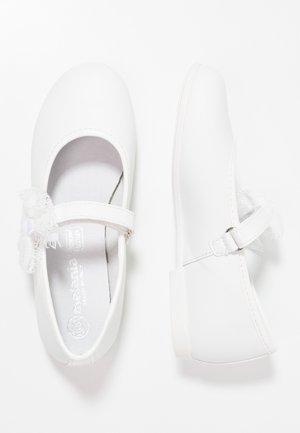 Bailarinas con hebilla - white