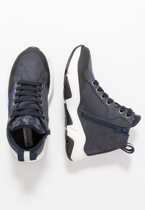 Sneakers high - blue