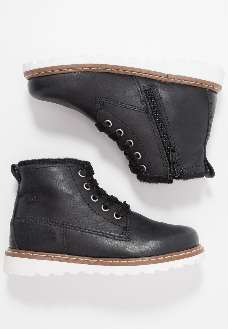 Melania - Lace-up ankle boots - black