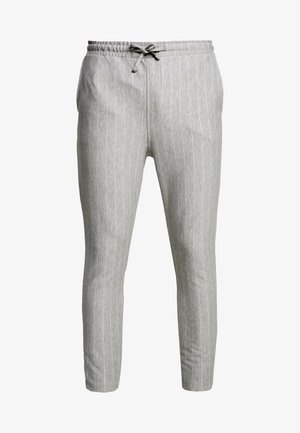 CLAMARAT SMART IN GREY STRIPE - Stoffhose - grey stripe