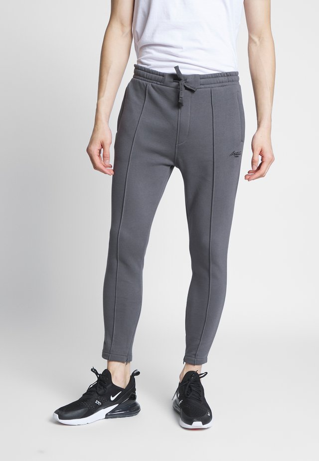 VEROS - Tracksuit bottoms - charcaol