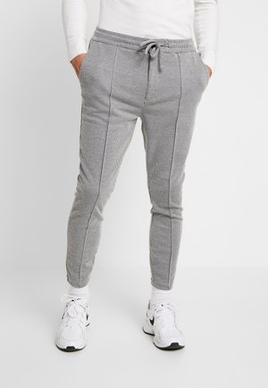METISSIER ROSARIO SMART CHECK - Tracksuit bottoms - grey