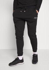 Metissier - METISSIER VENLO JOGGERS - Teplákové kalhoty - black - 0