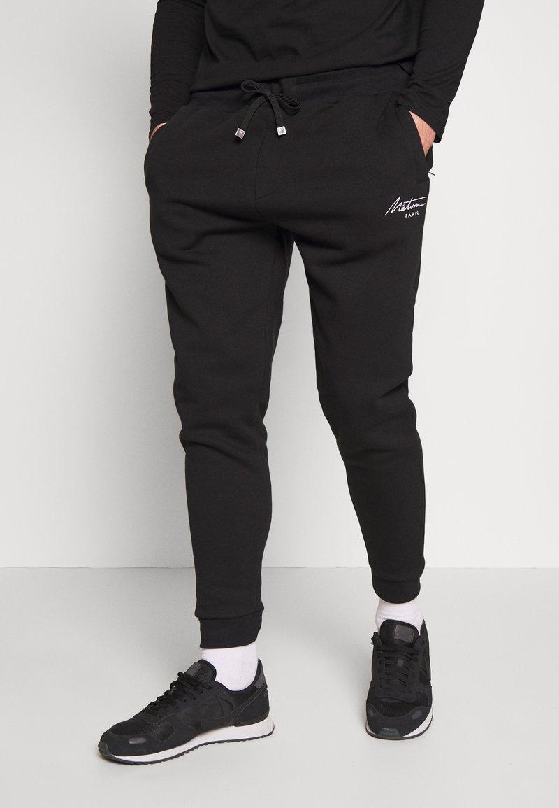 Metissier - METISSIER VENLO JOGGERS - Teplákové kalhoty - black