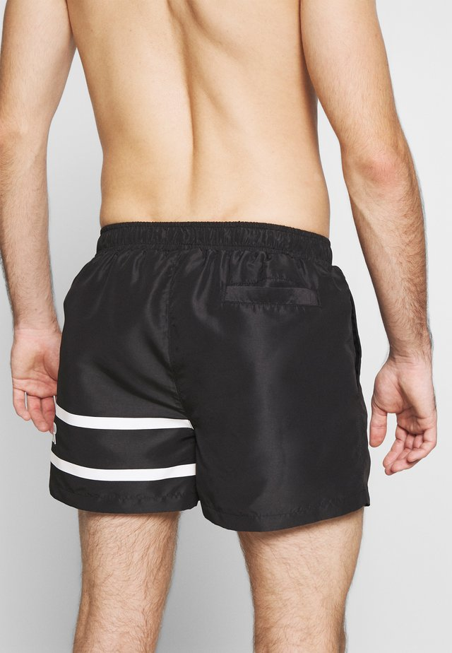 SIVERY SWIM - Swimming shorts - black