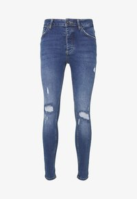 Metissier - NARIS MID WASH  - Slim fit jeans - blue - 4