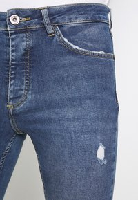 Metissier - NARIS MID WASH  - Slim fit jeans - blue - 5