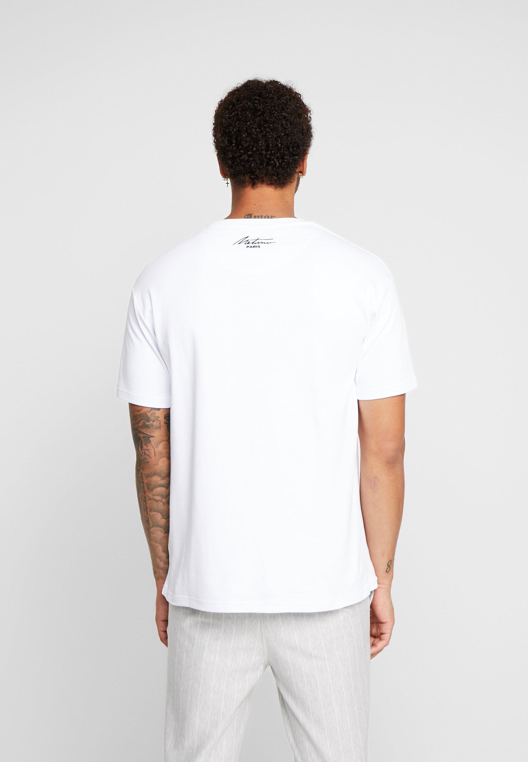 ARDO WITH SIGNATURE LOGO T shirt print white
