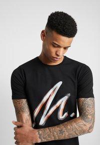 Metissier - METISSIER PORTES  - T-shirt print - black - 3