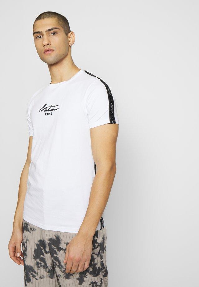METISSIER LAUDO - T-shirt med print - white