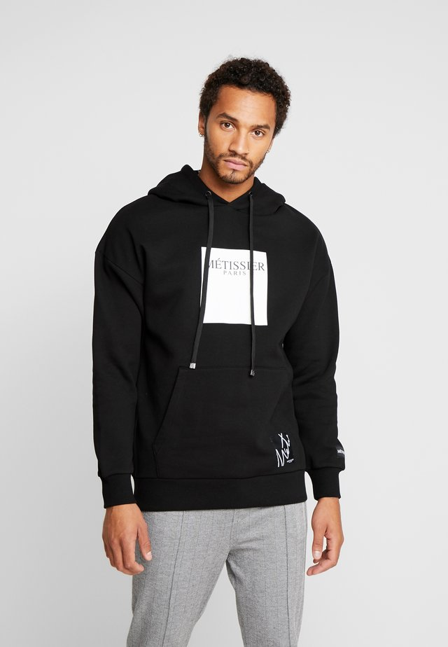 BANCO HOODIE WITH LOGO - Huppari - black