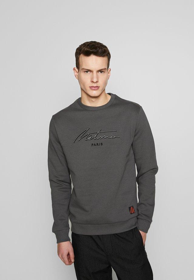METISSIER VEROS  - Sweater - charcoal
