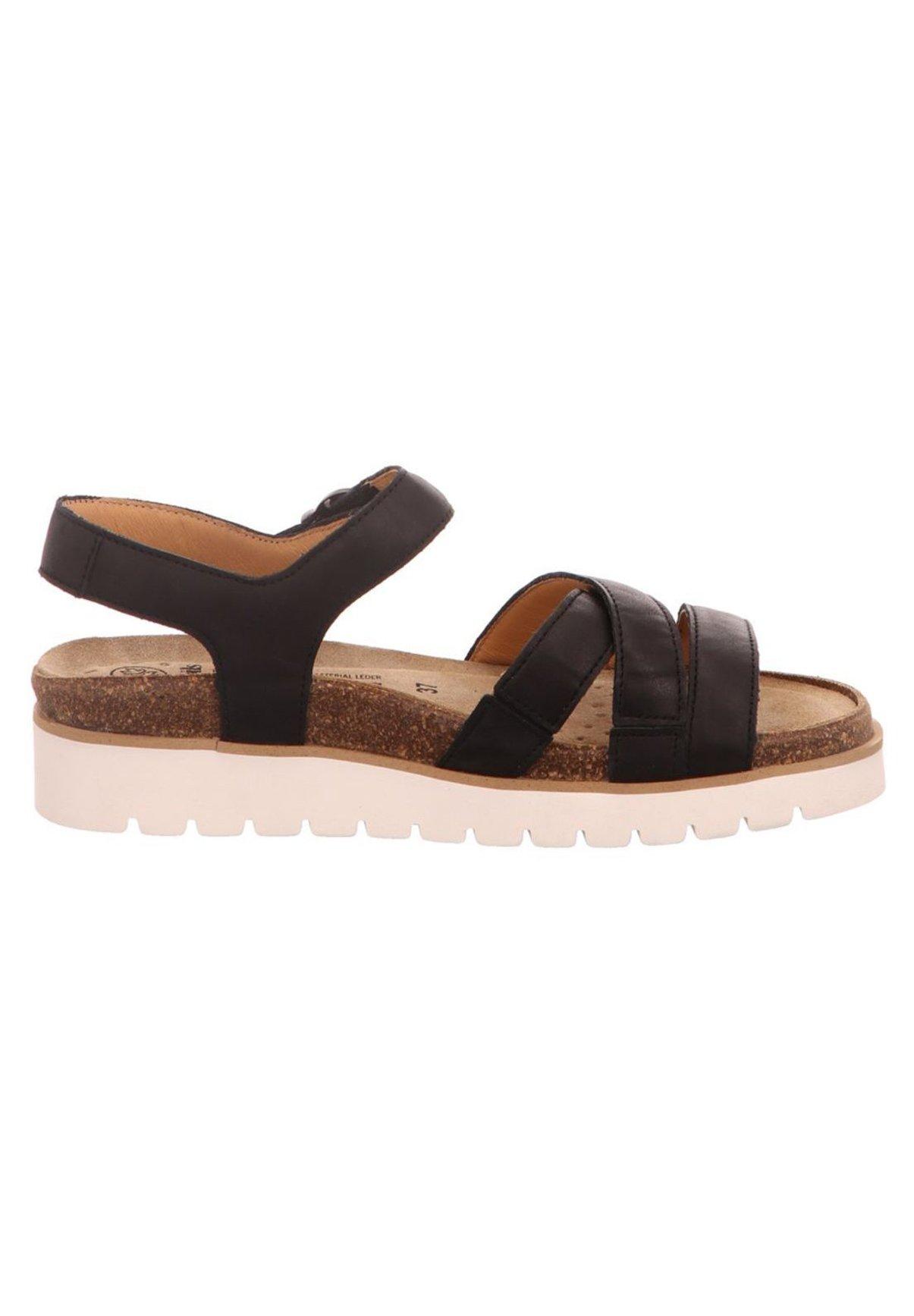 Mephisto Plateausandalette - black | Damen Schuhe 2020