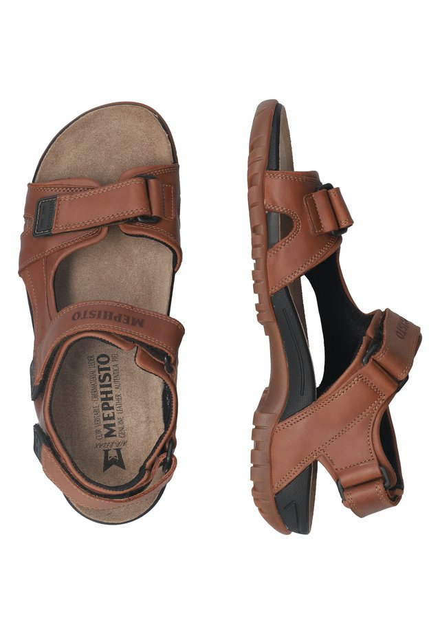 SCHUHE BRICE - Walking sandals - chestnut