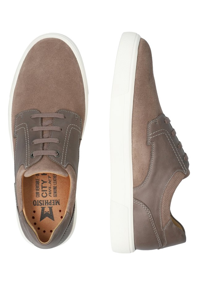 CALISTO - Casual lace-ups - warm grey