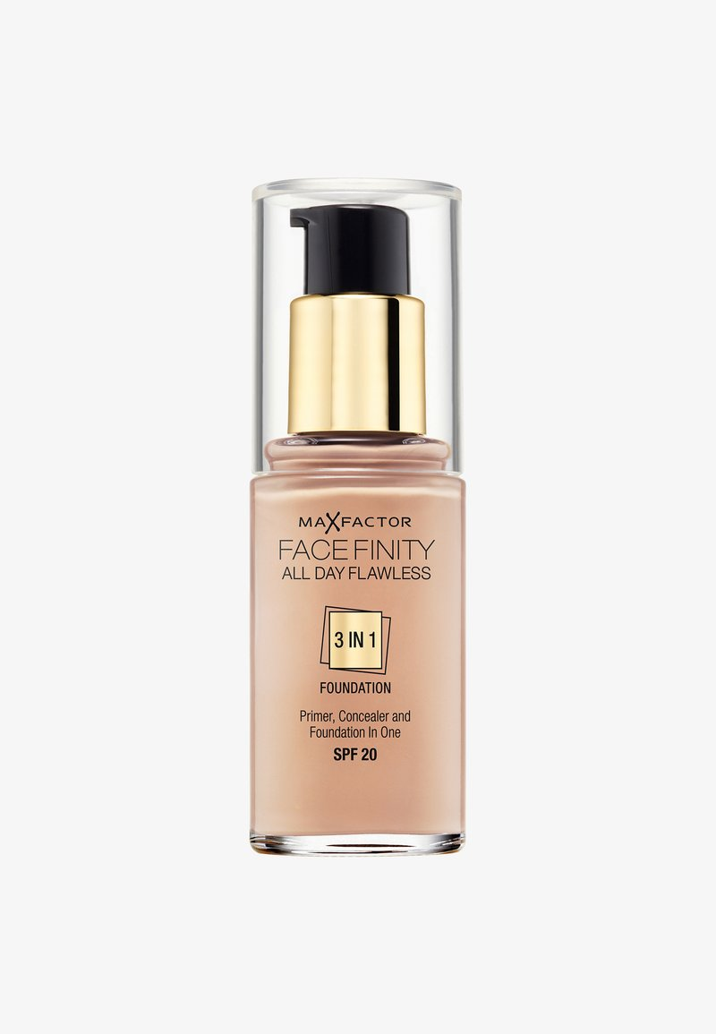 Max Factor - ALL DAY FLAWLESS 3 IN 1 FOUNDATION - Foundation - 40 light ivory