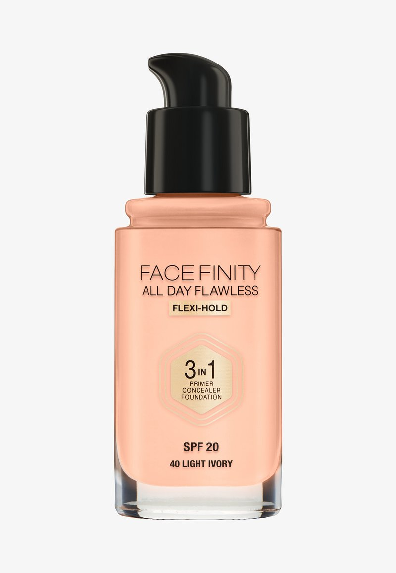 Max Factor - ALL DAY FLAWLESS 3 IN 1 FOUNDATION - Fond de teint - 40 light ivory