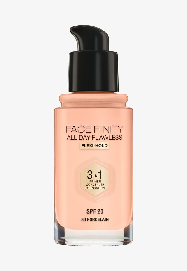 ALL DAY FLAWLESS 3 IN 1 FOUNDATION - Foundation - 30 porcelain