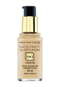 Max Factor - ALL DAY FLAWLESS 3 IN 1 FOUNDATION - Foundation - 33 crystal beige - 1