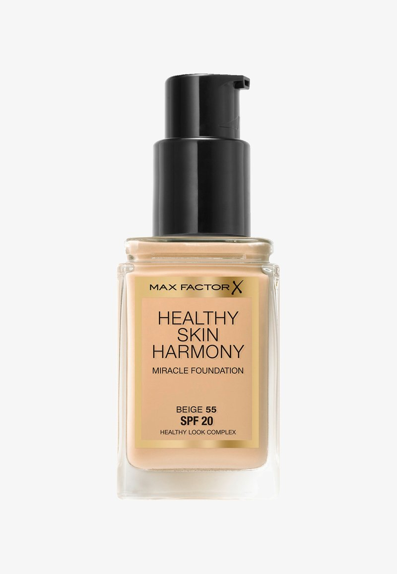 Max Factor - HEALTHY SKIN HARMONY MIRACLE FOUNDATION - Fond de teint - 55 beige