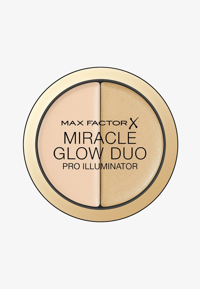 MIRACLE GLOW DUO HIGHLIGHTER - Highlighter - 10 light