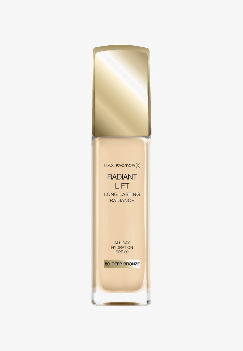 Max Factor - RADIANT LIFT FOUNDATION - Fond de teint - 80 deep bronze