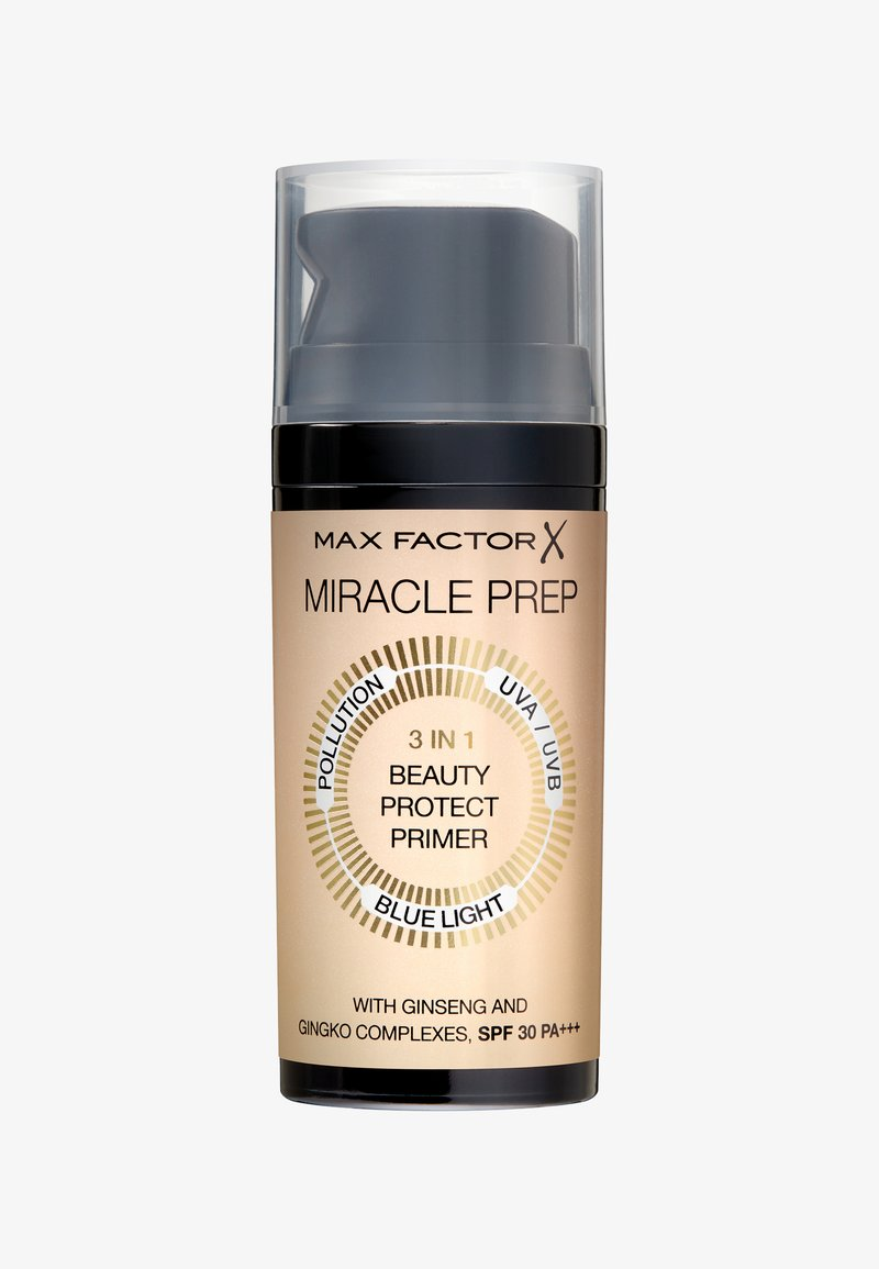 Max Factor - MIRACLE PREP 3IN1 BEAUTY PROTECT PRIMER - Primer - weiß