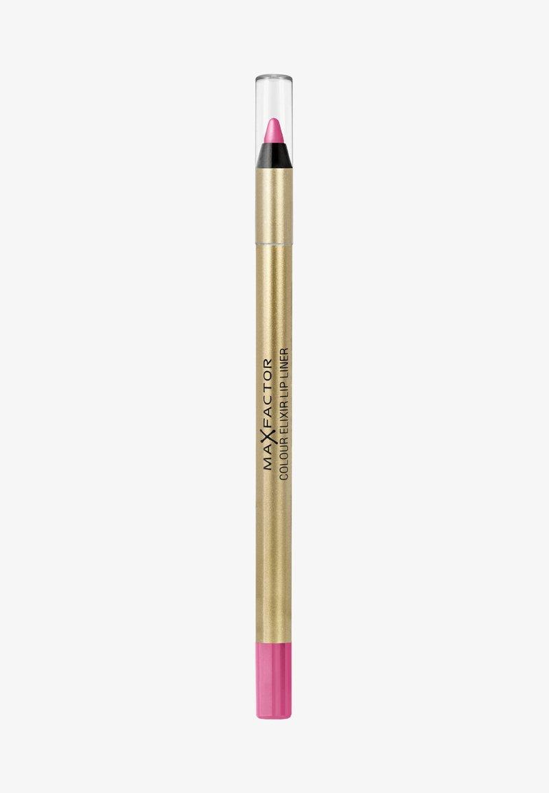 Max Factor - COLOUR ELIXIR LIP LINER - Lippenkonturenstift - 4 pink princess