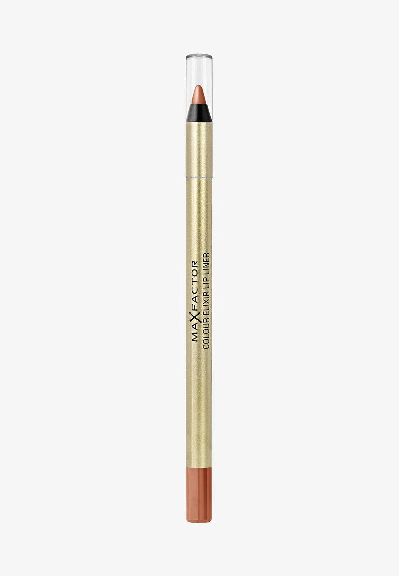 Max Factor - COLOUR ELIXIR LIP LINER - Lippenkonturenstift - 14 brown 'n' nude