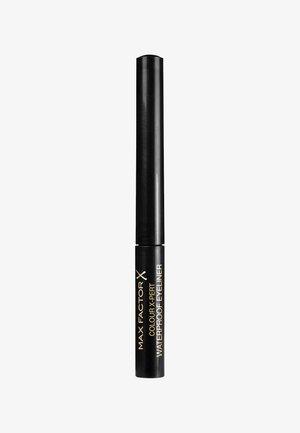 COLOUR X-PERT WATERPROOF EYELINER - Eyeliner - 1 deep black