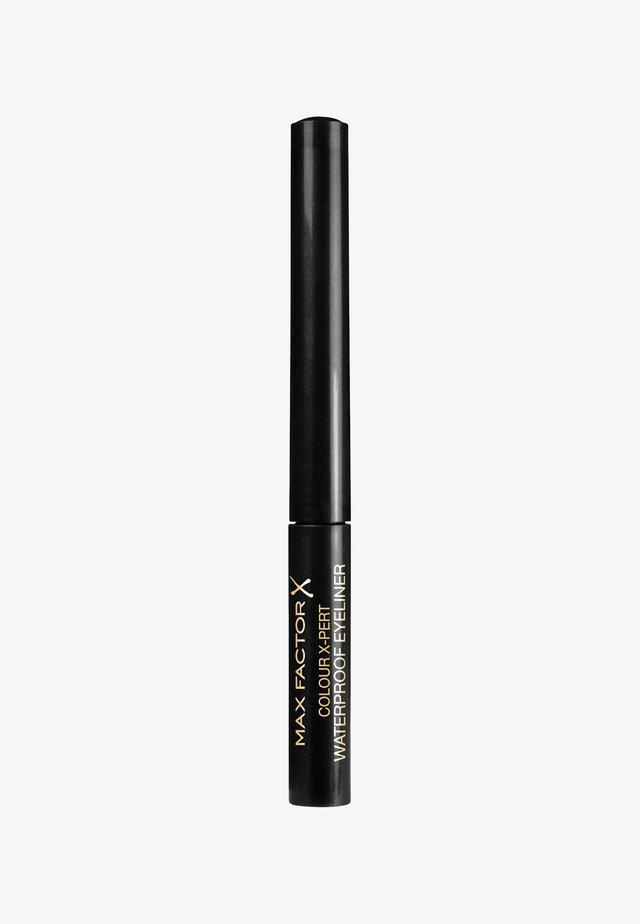 COLOUR X-PERT WATERPROOF EYELINER - Eyeliner - 1 deep black