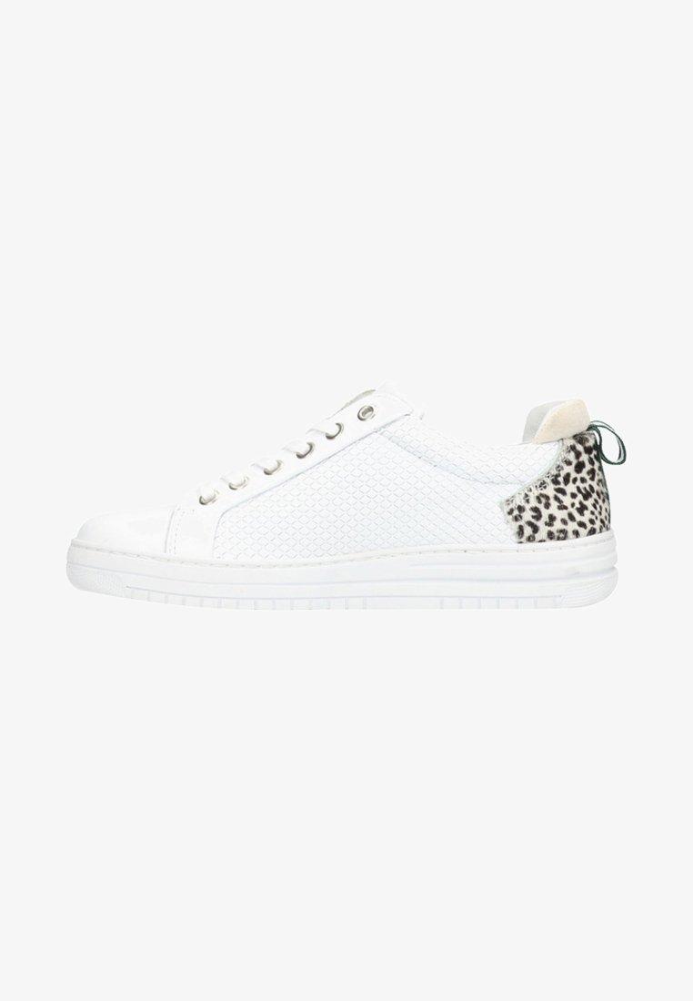 Manfield - Sneaker low - white