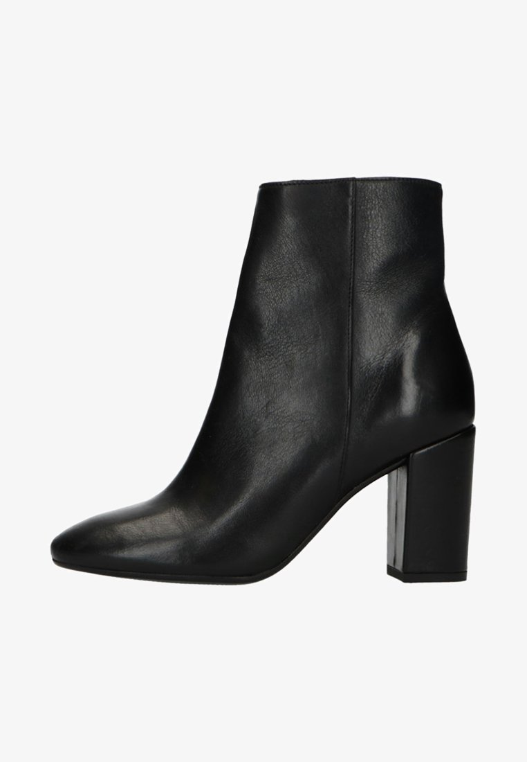 Manfield - MIT ABSATZ - High Heel Stiefelette - black