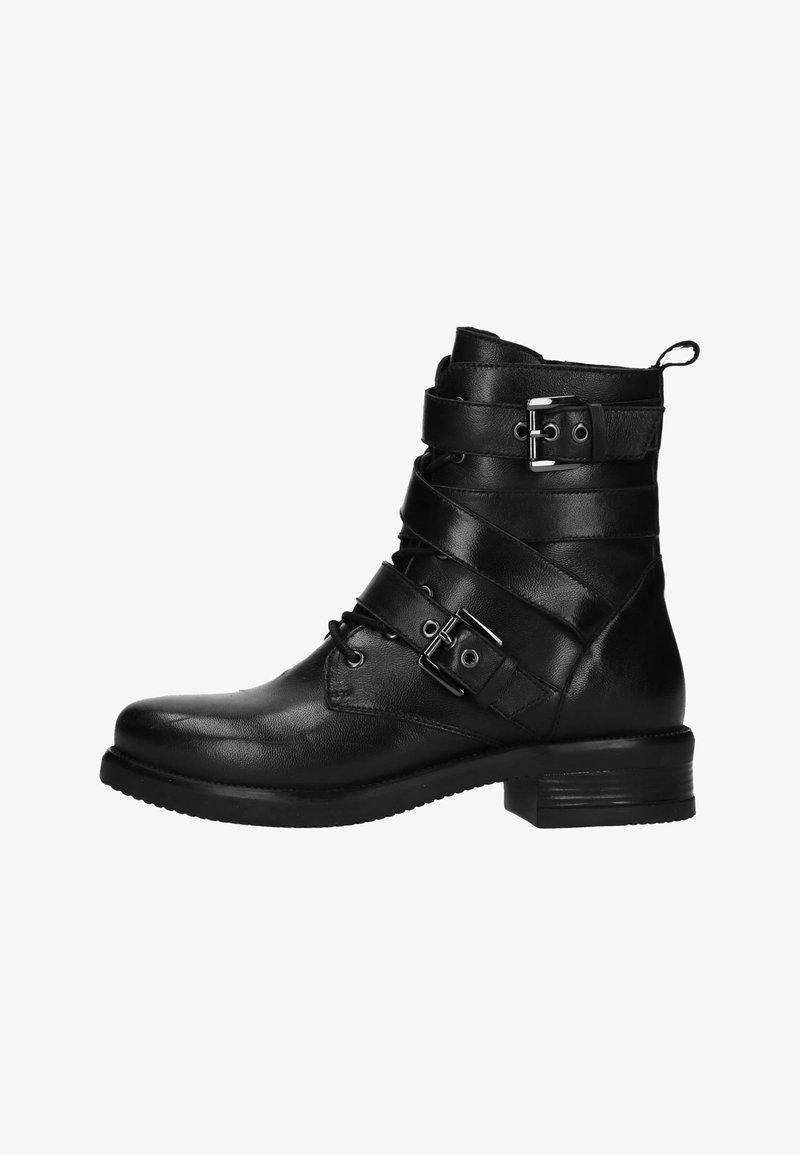 Manfield - Cowboy-/Bikerlaarsjes - black