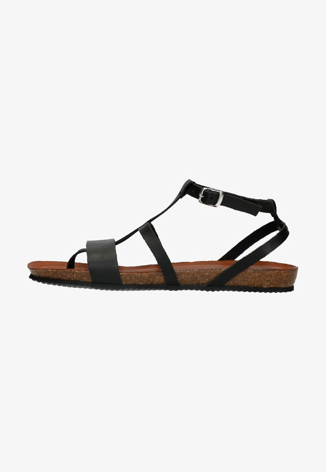 Sandals - black/dark brown