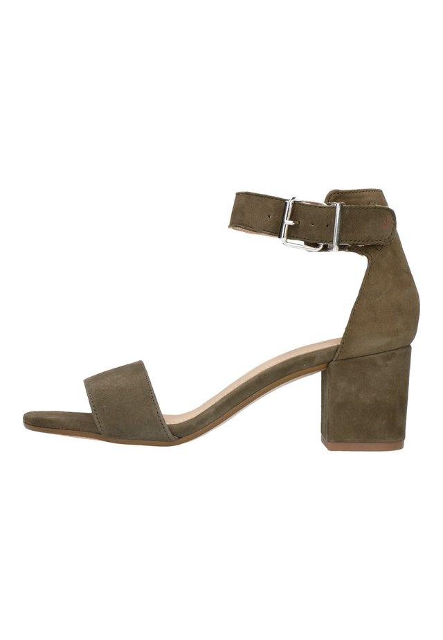 Sandales à talons hauts - grün