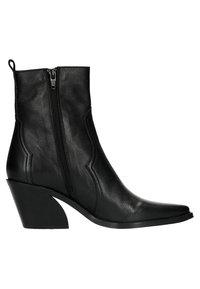 Manfield - Cowboy/biker ankle boot - black - 5