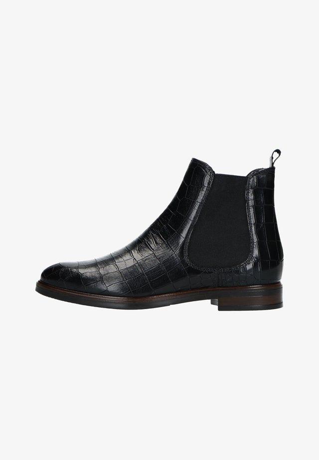 MIT KROKOMUSTER - Ankle boots - schwarz
