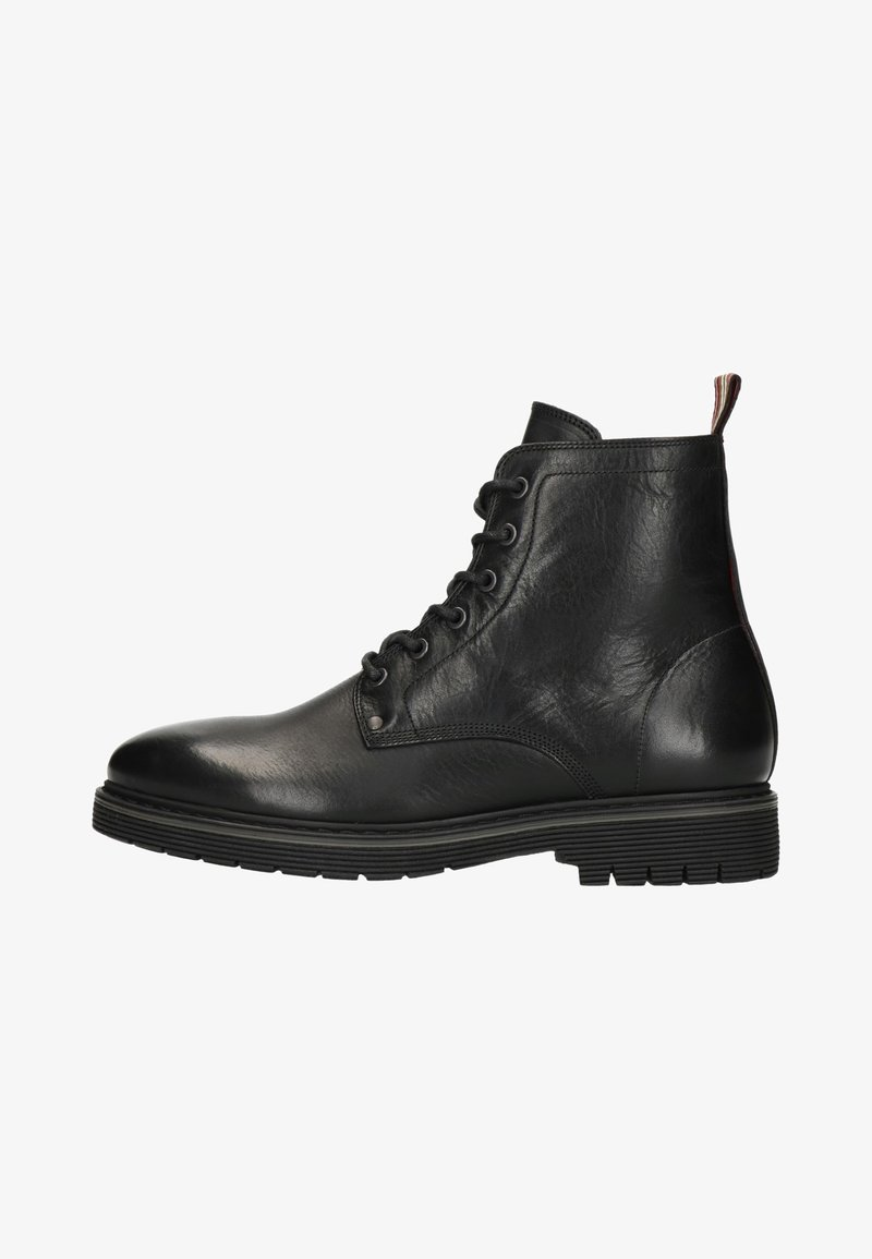Manfield - Lace-up ankle boots - black