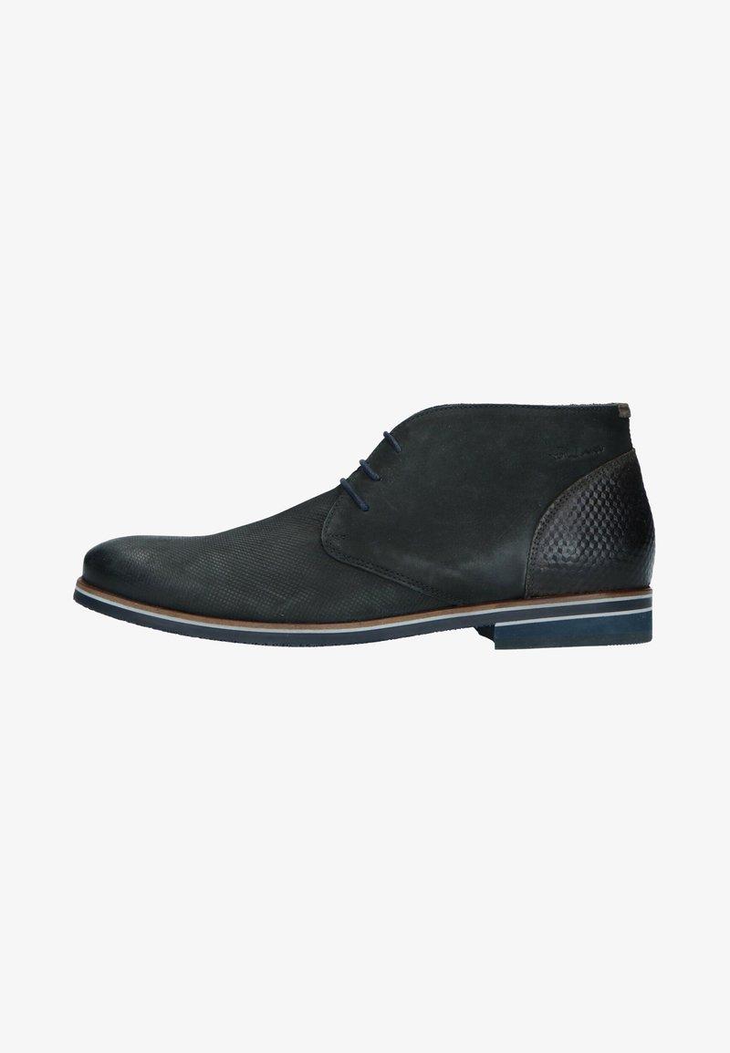 Manfield - Smart lace-ups - gray