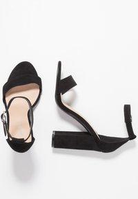 Miss Selfridge - HONEY  - Sandály na vysokém podpatku - black - 3