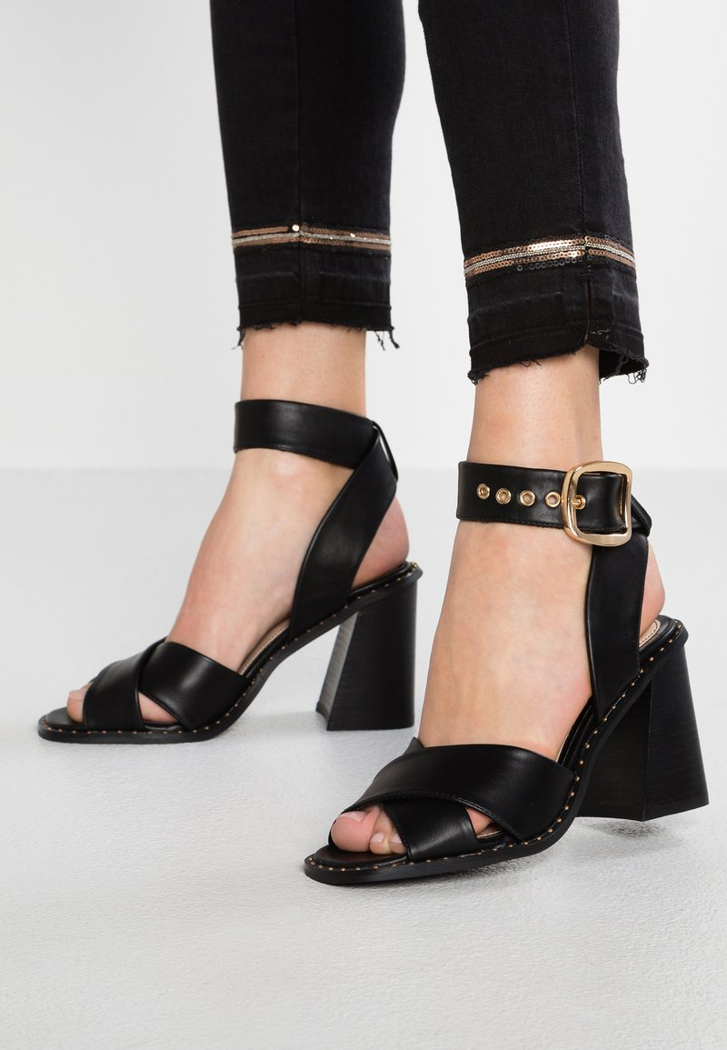 Miss Selfridge - HOPE - High heeled sandals - black