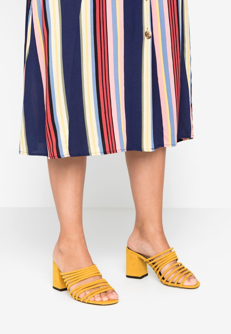 Miss Selfridge - SAGE - Sandaler - yellow