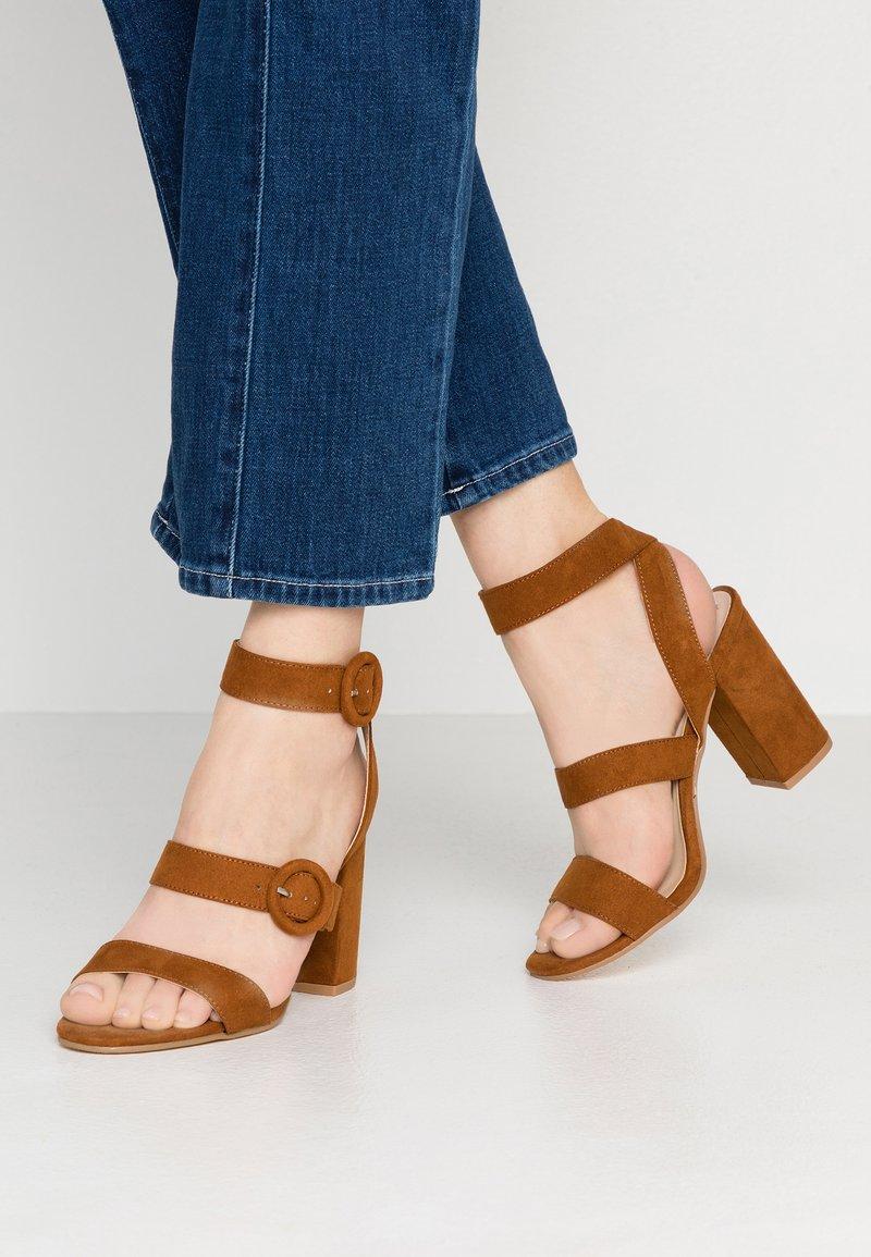 Miss Selfridge - SCOUT - High heeled sandals - tan
