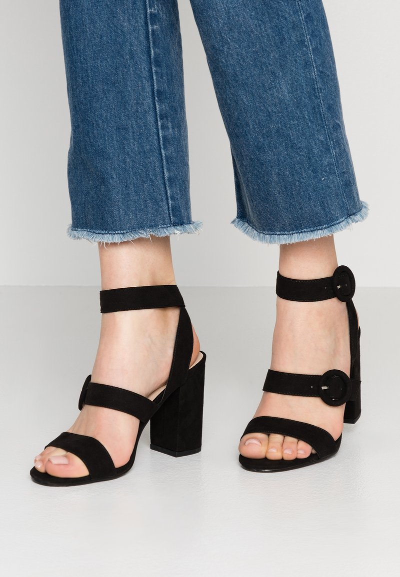 Miss Selfridge - SCOUT - High heeled sandals - black