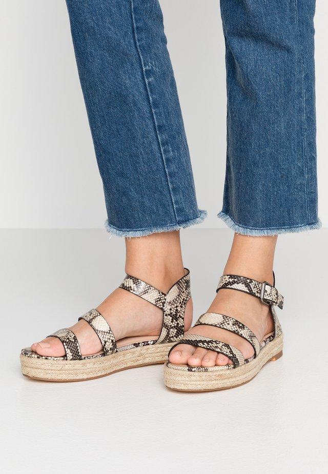 WINTER - Platform sandals - multicolor