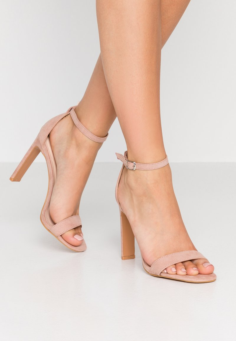 Miss Selfridge - SALLIE - Sandalias de tacón - nude
