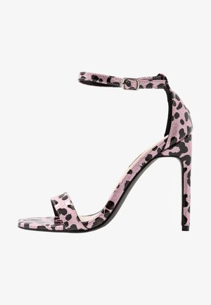 SALLIE - Sandalen met hoge hak - pink