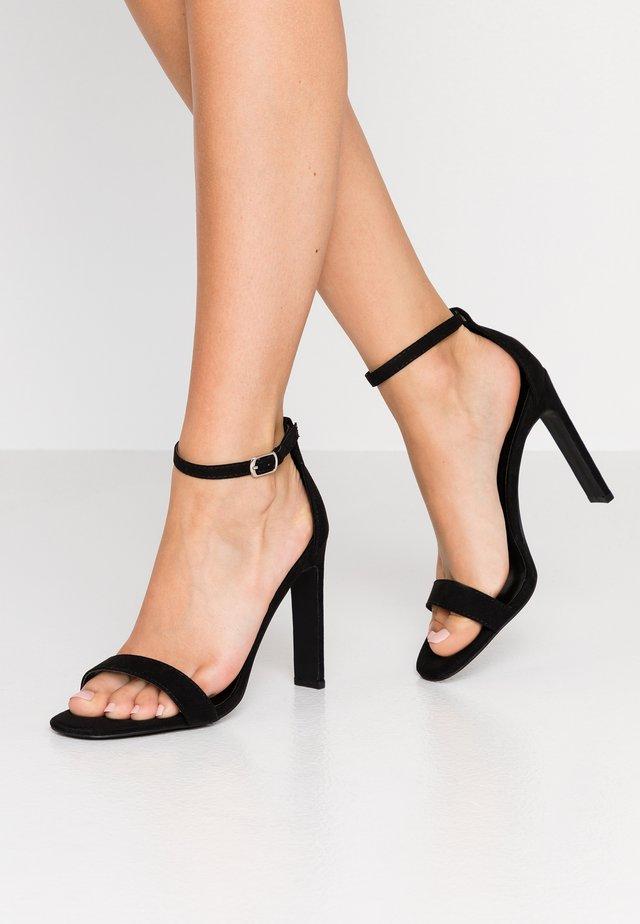 SALLIE - Sandály na vysokém podpatku - black